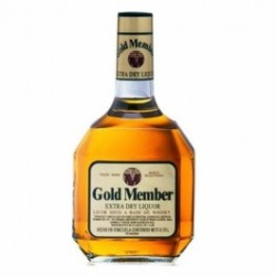 Gold Member whisky 0.7 Lts