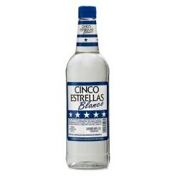 Ron Cinco Estrellas Blanco 0.70 Lts